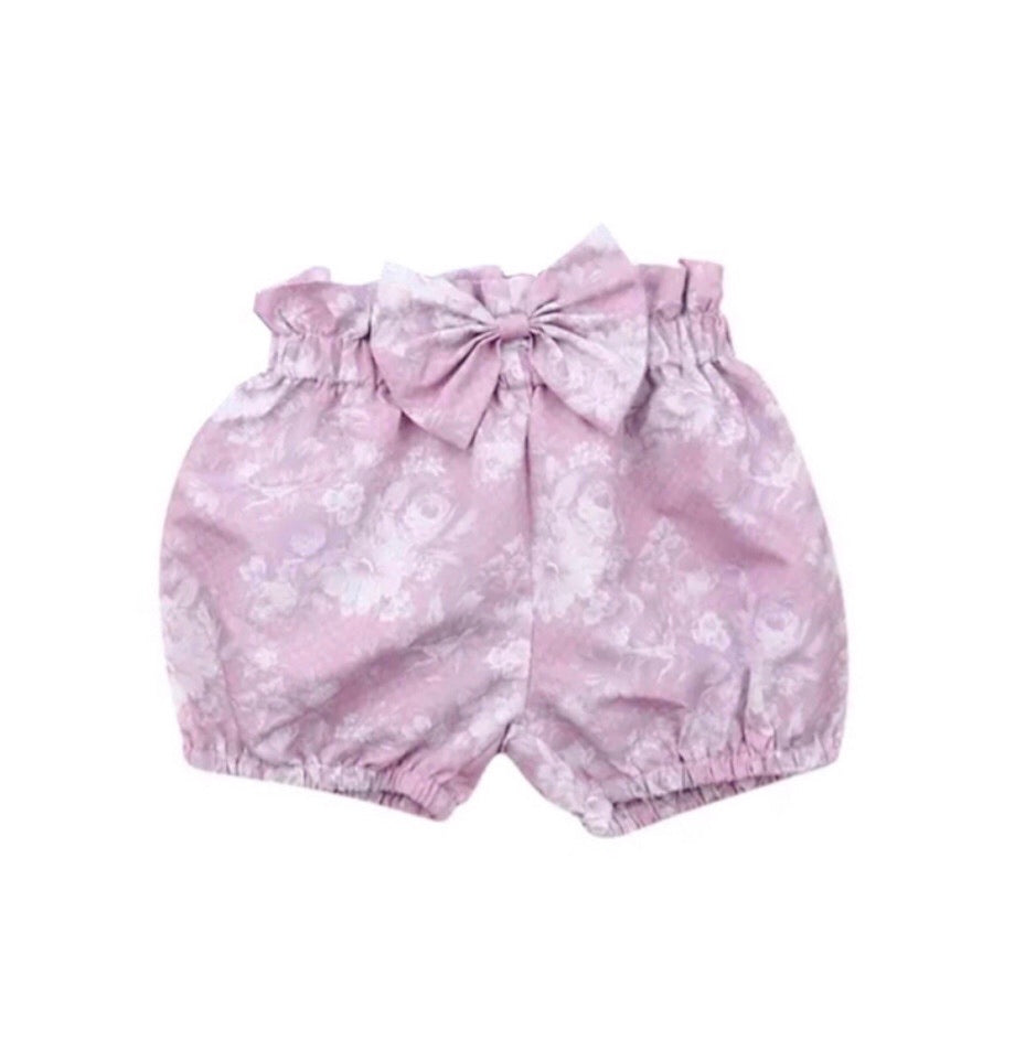 Lavender Bow Shorties