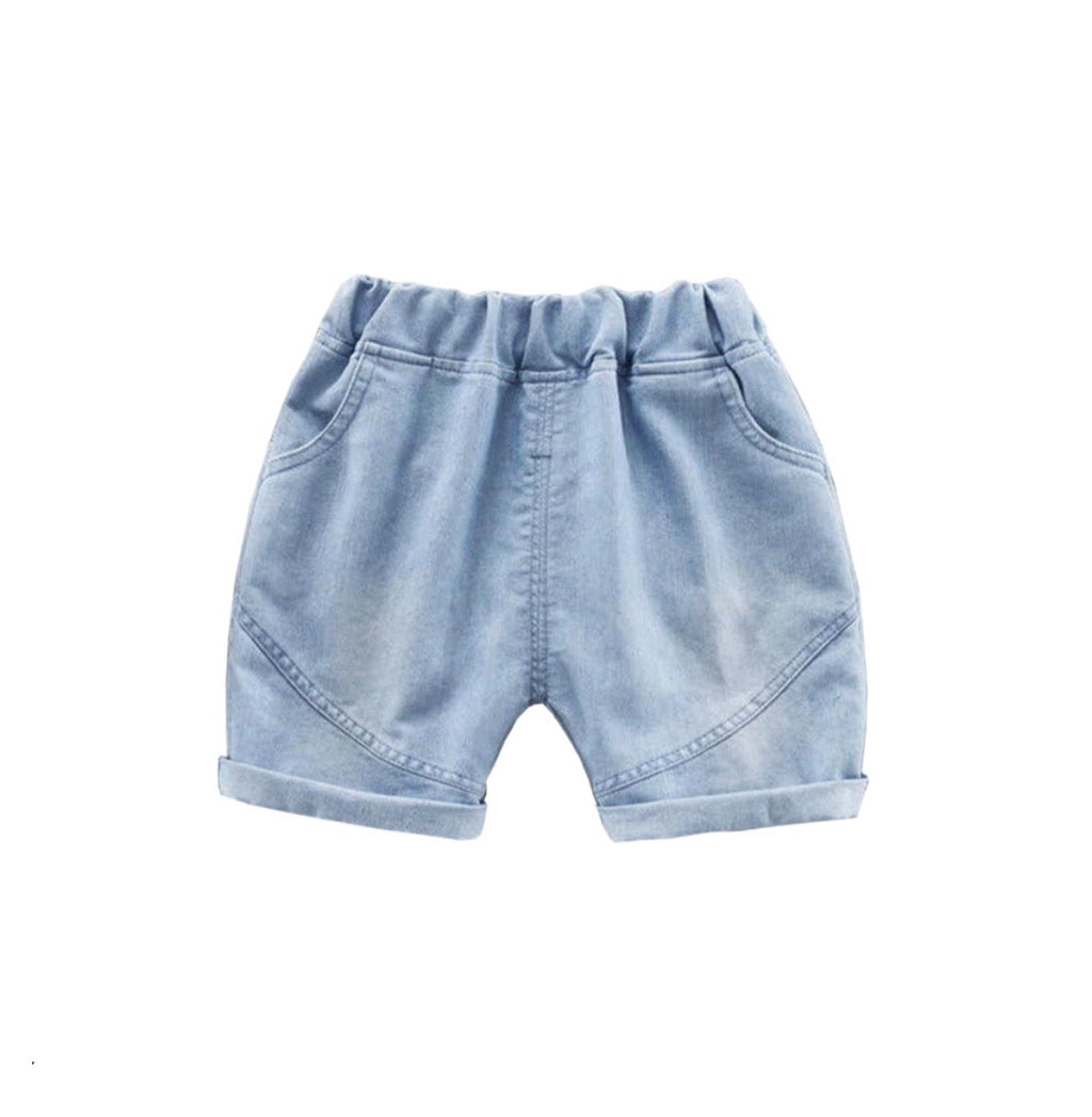 Harem Denim Shorts <br> COMING SOON <br>