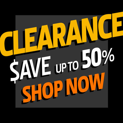 CLEARANCE SPECIALS GET BIG SAVINGS