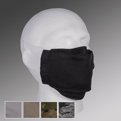 FILTER POCKET Face Masks with Head Straps & Nose Bridge