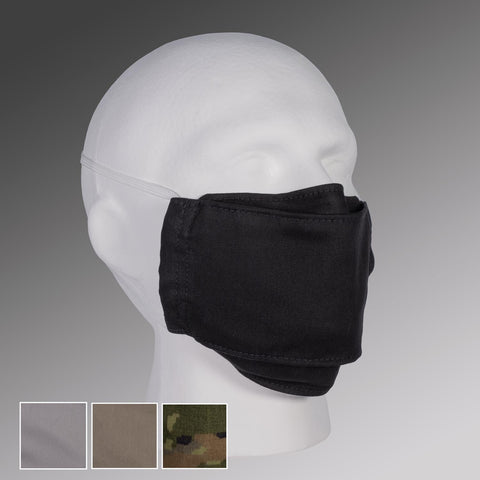 FILTER POCKET Face Masks with Head Straps, Filter Pack & Nose Bridge