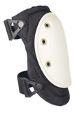 AltaFLEX™ HARD CAP Industrial Knee Pads - Black with White Cap