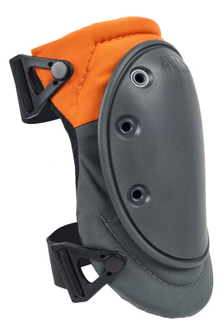 AltaFLEX™ FLEXIBLE CAP Industrial Knee Pads - Orange & Gray