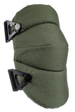 AltaSOFT™ Tactical Capless Knee Pads - Olive Green