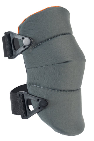 AltaSOFT™ Industrial Capless Knee Pads -Gray & Orange