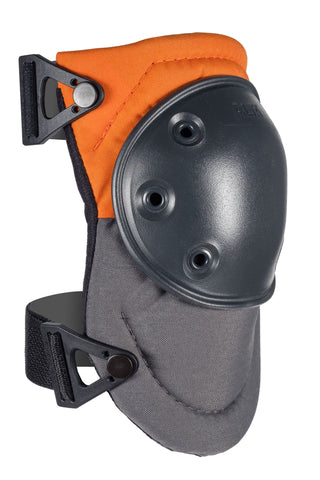AltaPRO™ Hard Cap Industrial Knee Pads - Orange & Gray