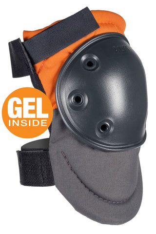 AltaPRO™ Industrial Knee Pads with GEL - Orange & Gray