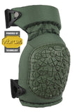 Alta CONTOUR 360 Knee Pads with VIBRAM® CAPS - Olive Green