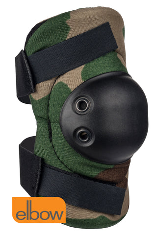 AltaFLEX ELBOW PADS with WOODLAND CAMO