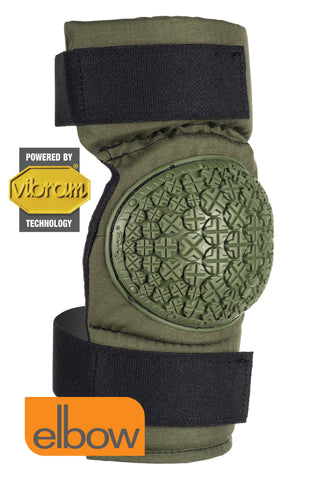 AltaCONTOUR™ 360 Elbow Pads with VIBRAM® - Olive Green