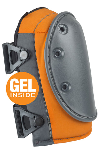 AltaGUARD™ Industrial Knee Pads with GEL - Orange & Gray