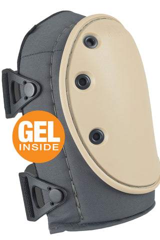 AltaGUARD™ NOMAR® Knee Pads WITH GEL - Non Marring Cap - Gray