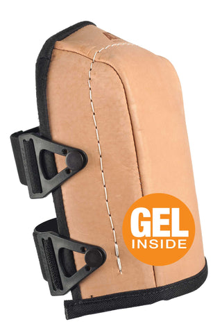AltaGUARD™ LEATHER Knee Pads with GEL - Lightweight