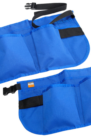AltaGEAR 14 POCKET WAIST APRON - Blue