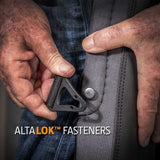 ALTA PRO-WEDGE™ Knee Pads with AltaLOK™ Top Straps