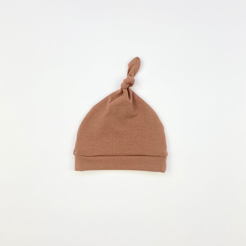 Cocoa Knotted Hat
