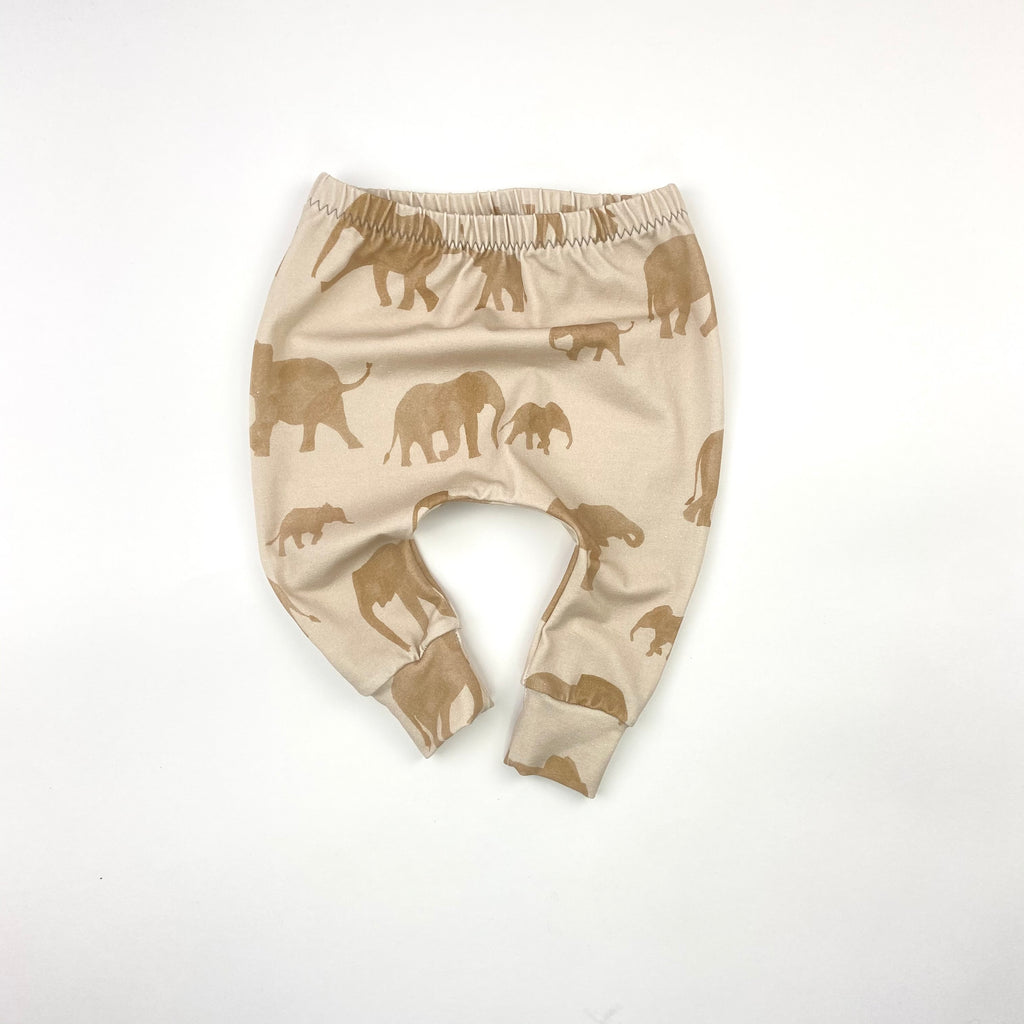 Elephant Herd Harem Leggings