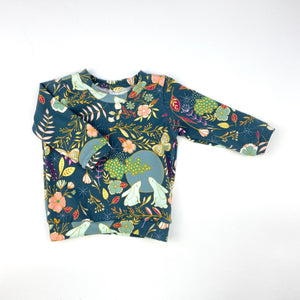 Rabbit Floral T-Shirt
