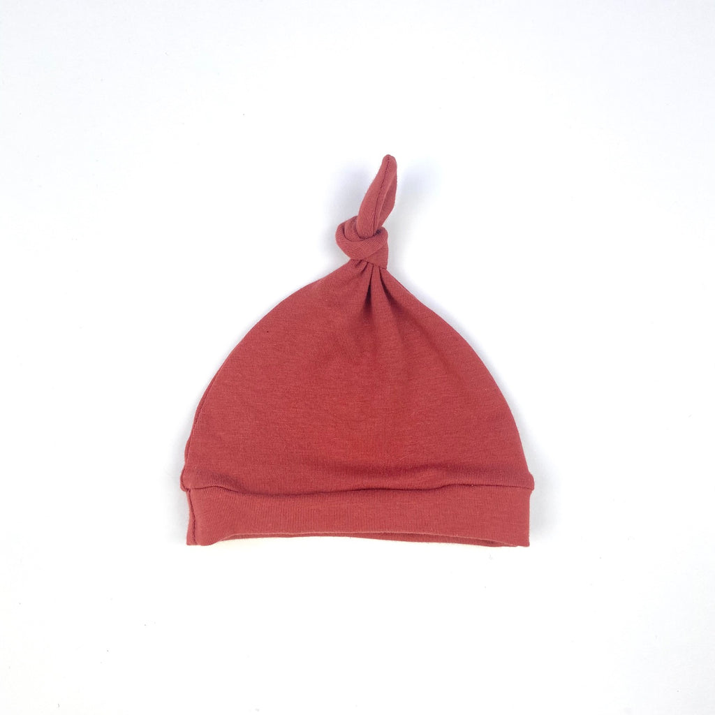 Tomato Knotted Hat