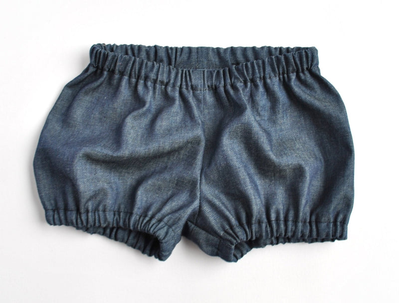 Dark Denim Bloomers