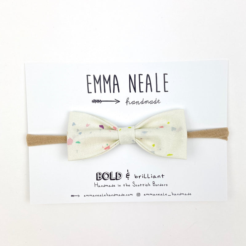 Confetti Ruby Bow Headband