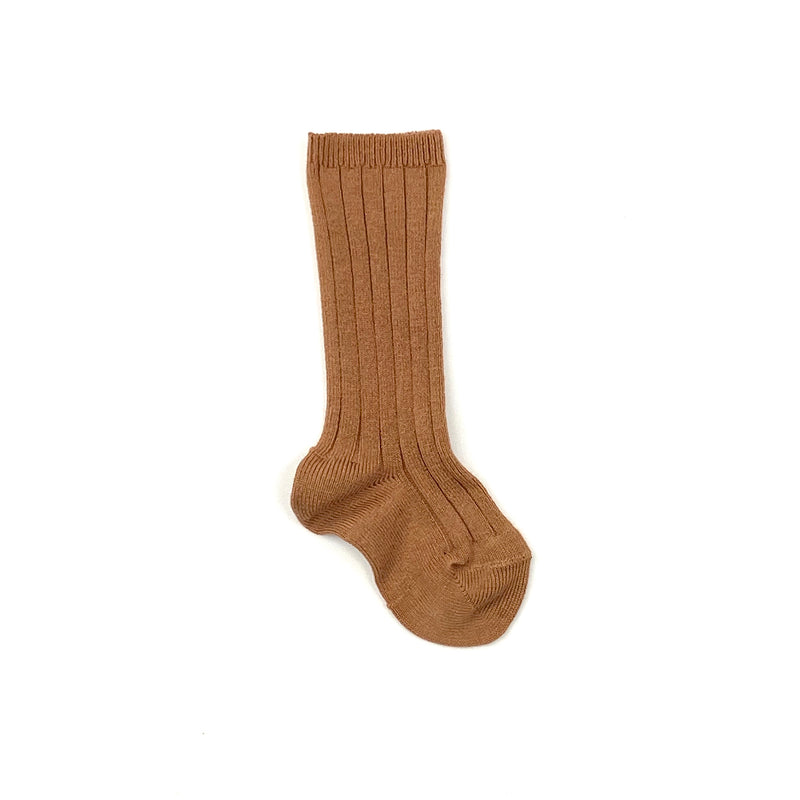 Cinnamon Knee Socks