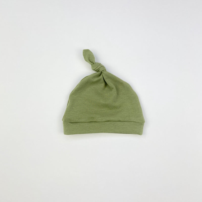 Sage Knotted Hat