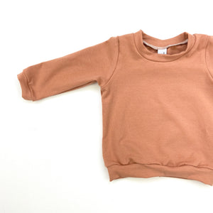 Dusty Terracotta Long Sleeve T-Shirt