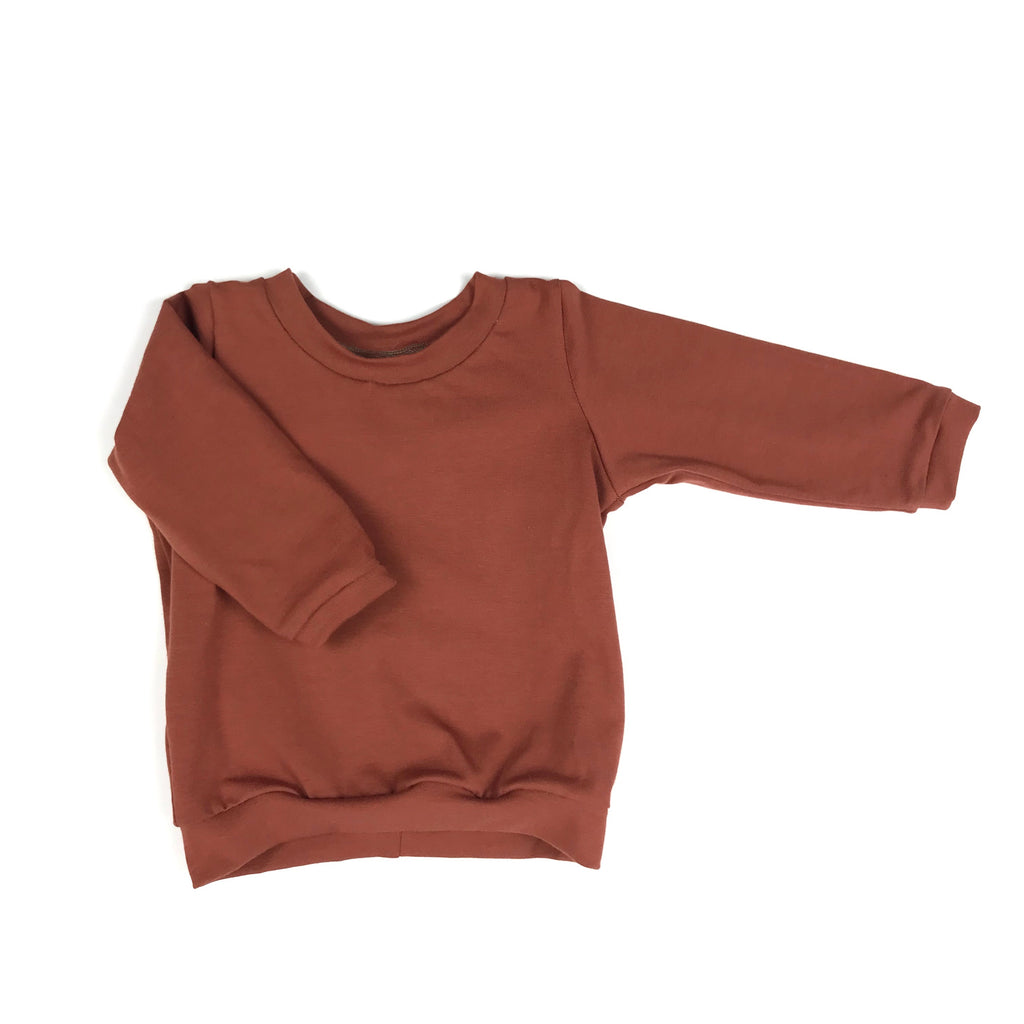 Rust Long Sleeve T-Shirt