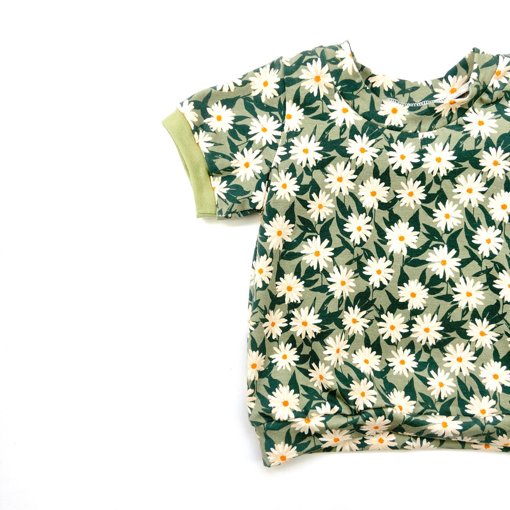 Pressed Flower Sleeved T-Shirt