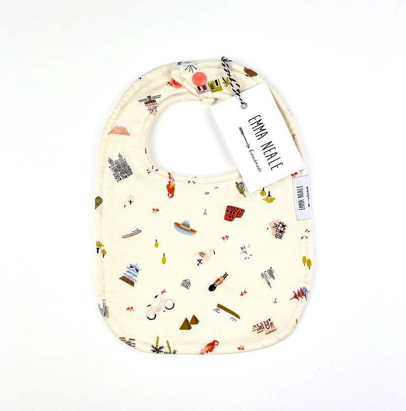 Little Explorer Traditional Bib