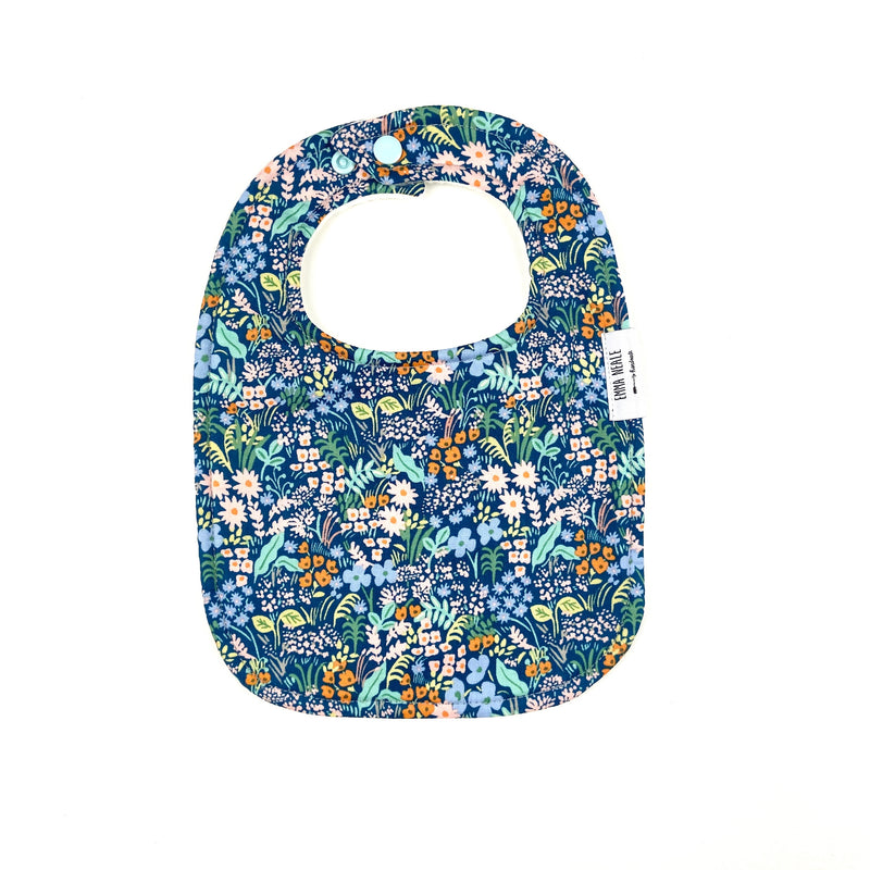Blue Meadow Traditional Bib