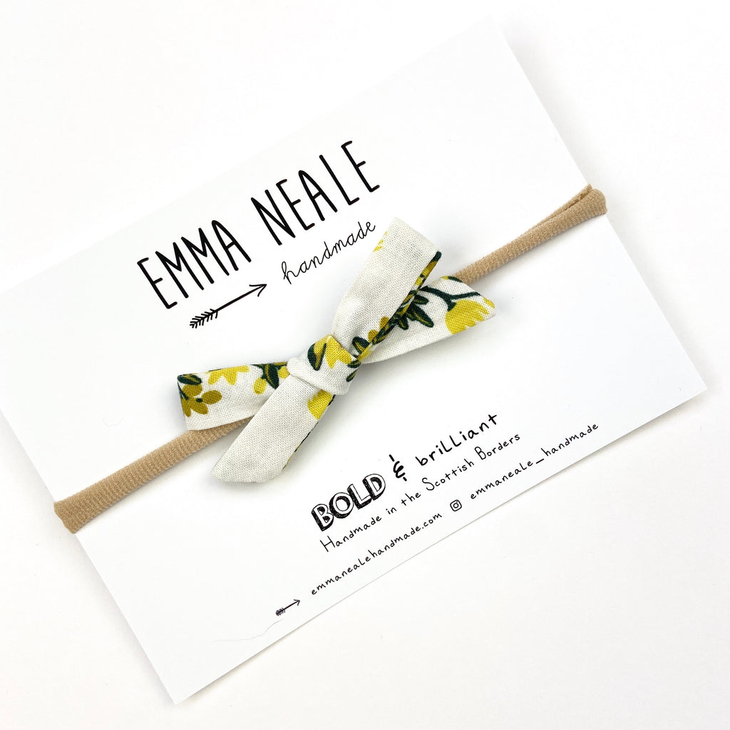 Pineapple Vines Orla Bow Headband
