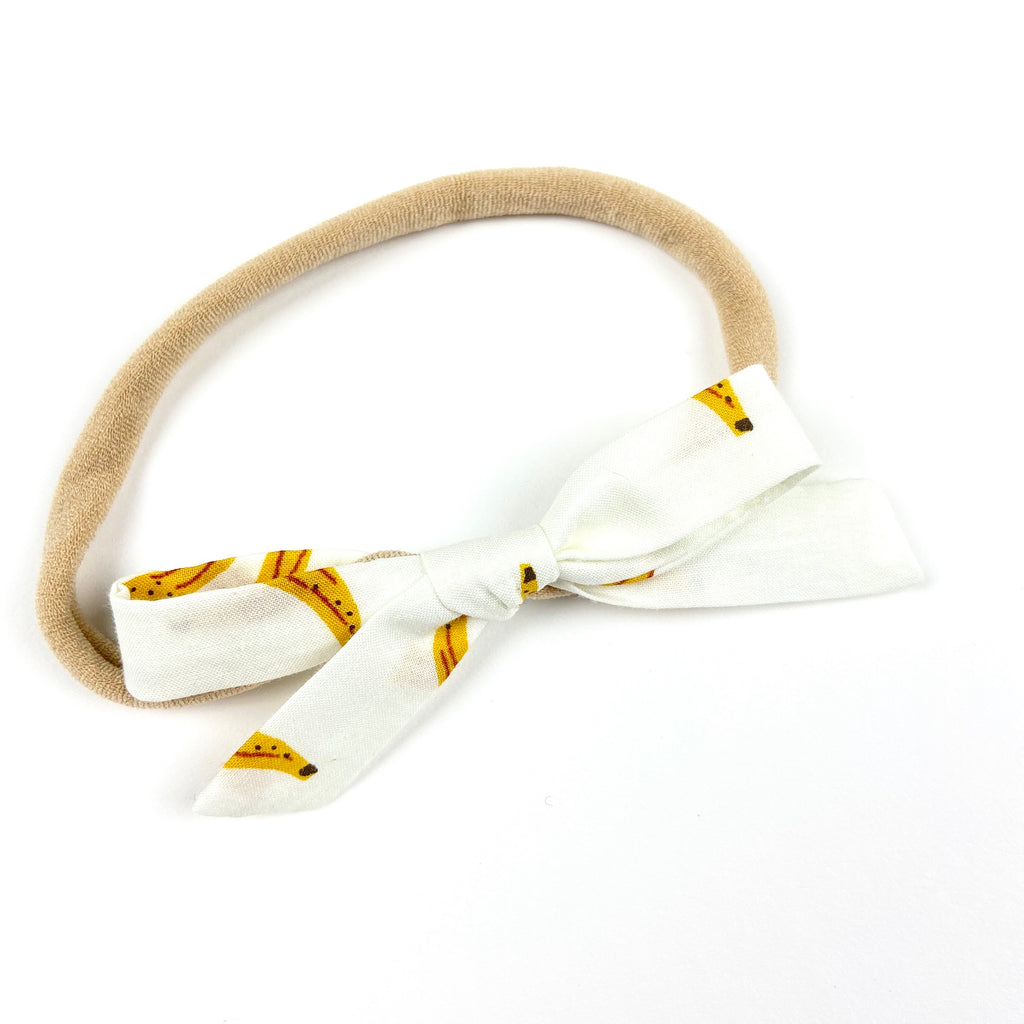 Banana Orla Bow Headband