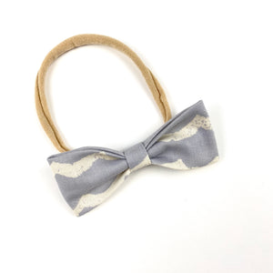 Wave Ruby Bow Headband
