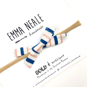 Stripe Orla Bow Headband