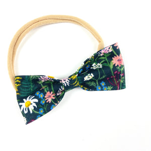 Wildflower Ruby Bow Headband