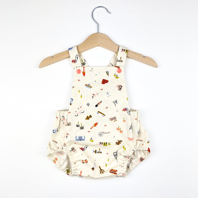 Little Explorer Short Romper