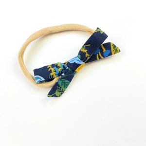 Floral Vines Orla Bow Headband