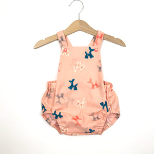 Peachy Pop Short Romper