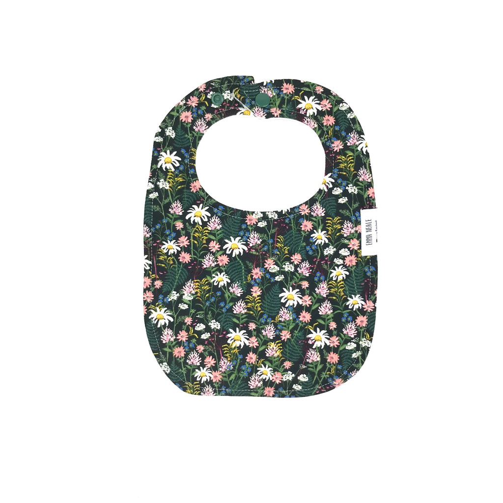 Wildflower Traditional Bib