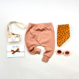 Dusty Terracotta Harem Leggings