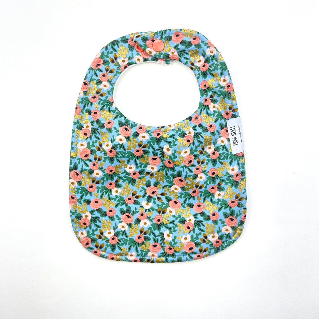 Rosa Metallic Traditional Bib