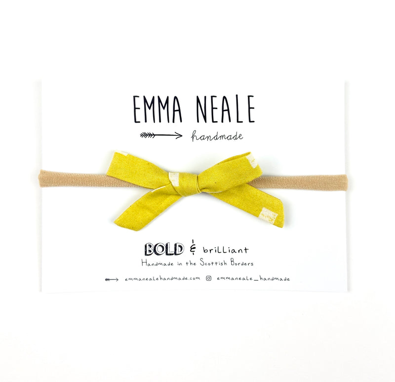 Lemondrop Orla Bow Headband