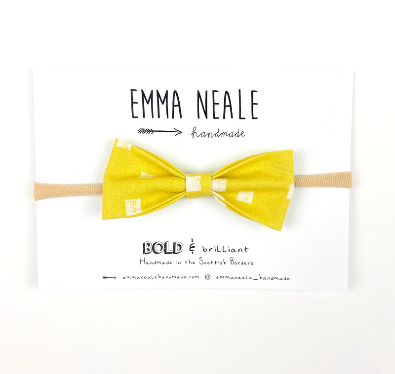 Lemondrop Ruby Bow Headband