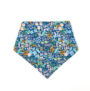 Blue Meadow Bandana Bib