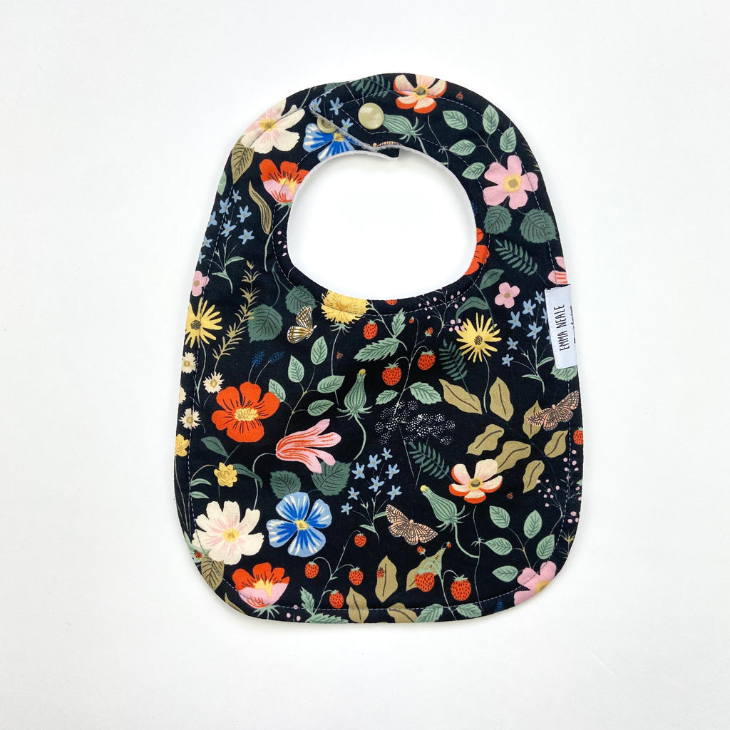 Strawberry Fields Traditional Bib
