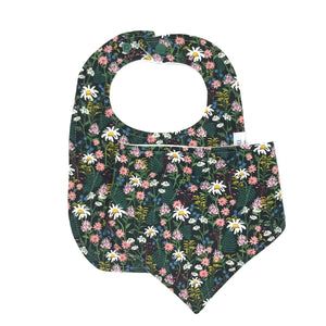 Wildflower Two Bib Set
