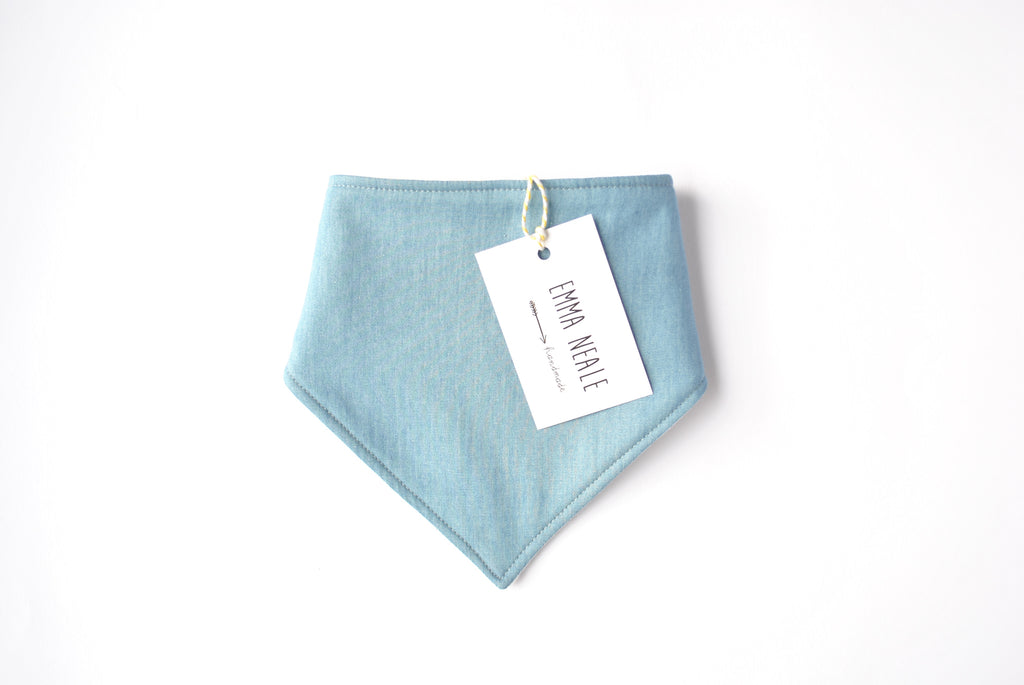 Light Denim Bandana Bib