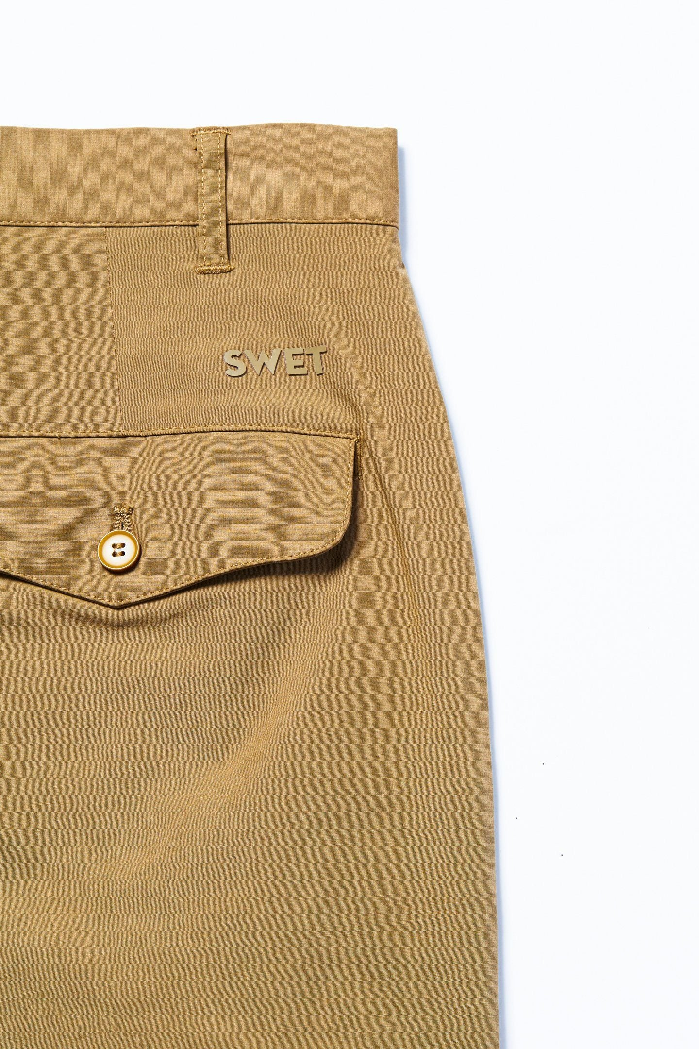 Military Officer Pants | Khaki